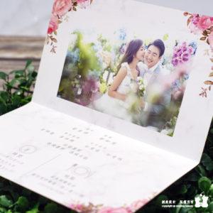 【大理石遇見玫瑰】喜帖 BS.954
